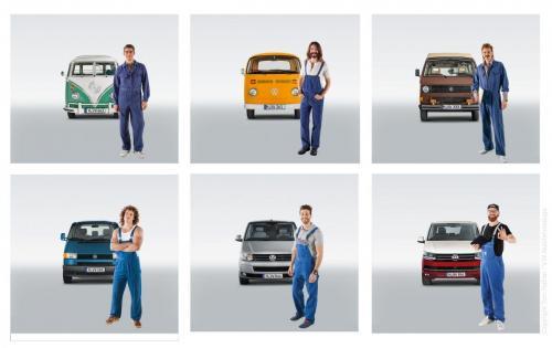 "VW T Modell Kampagne ""Generations"""